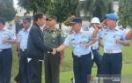 Helikopter Jokowi Balik Kanan karena Cuaca Buruk di Sukajaya Bogor