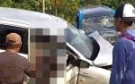 Dua Buah Mobil Terlibat Kecelakaan di Jalan Tjilik Riwut, 8 Orang Jadi Korban