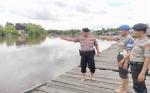 Ini Pesan Kamtibmas Kapolsek Bukit Batu untuk Warga di Pinggiran Sungai Rungan