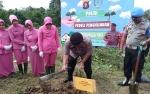 Kapolres Kotim Pimpin Penanaman Pohon untuk Penghijauan