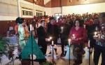 Keluarga Besar DPRD Kapuas Gelar Ibadah dan Perayaan Natal