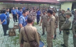 Anggota Satpol PP Kapuas Rutin Lakukan Simulasi Penertiban untuk Tegakkan Perda