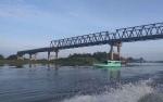 Jembatan Jelai Sukamara Jadi Tempat Swafoto Termahal