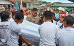 Kapolsek Kapuas Barat Hadiri Pemakaman Damang Adat Kecamatan