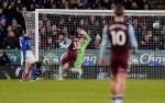 Leicester Ditahan Seri Villa pada Leg Pertama Semifinal Carabao