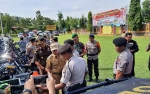 Polres Barito Timur Juga Gelar Apel Pasukan Aman Nusa II