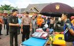 Kapolres Barito Utara: Penanggulangan Bencana Harus Dilakukan Secara Sinergi oleh Semua Pihak