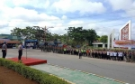 Polres Murung Raya Gelar Apel Aman Nusa II, Siap Terjunkan Personel saat Bencana