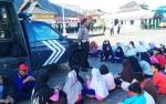 Polres Barito Utara Sosialisasikan Imbauan Kamsektibcar Lantas kepada Murid SD