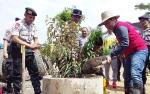 Polri Peduli Penghijauan Sejalan dengan Program Pemkab Barito Timur