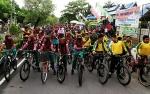 Fun Bike Peringatan HAB ke 74 Kemenag di Kapuas Berlangsung Meriah