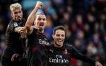 Gol Ibrahimovic Warnai Kesuksesan Milan Akhiri Puasa Kemenangan