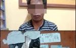 Simpan Sabu Dalam Tisu, Pria ini Dibekuk Personel Polsek Pangkalan Banteng
