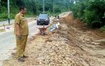 Jalan Menuju Bandara Baru Longsor, Dinas PUPR Segera Lakukan Perbaikan