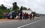 Mobil Kelurahan Dipakai Jualan Durian Rusak Parah karena Terperosok, Warga Minta Ganti Baru