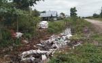 Astaga, Selokan di Jalan Yos Sudarso Palangka Raya Penuh Sampah