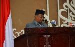 Wakil Gubernur Sampaikan 5 Poin dalam Rapat Paripurna