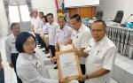 Wakil Bupati Gunung Mas Serahkan DPA SKPD Anggaran 2020