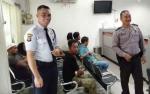 Personel Polsek Kapuas Murung Sambangi Objek Vital untuk Antisipasi Kriminalitas