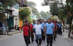 Tingkatkan Soliditas, Polres Kotawaringin Barat dan TNI Olahraga Bersama