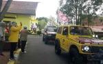 Bupati Lepas Rombongan Off Road Dalam Rangka Explore Kobar