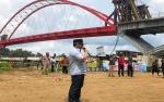 Gubernur akan Minta Presiden Jokowi Resmikan Jembatan Tumbang Samba