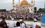Bupati Sukamara Harapkan Ada Lapak Kuliner di Sekitar Masjid Agung