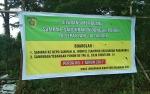 Dinas Lingkungan Hidup Pasang Spanduk Larangan Buang Sampah di Jalan Letkol CHR Binti