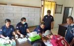 BNNP Kalteng Lakukan Tes Urine Puluhan Karyawan Perusahaan