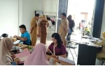 Wakil Bupati Seruyan Pantau Hari Pertama Pengambilan Kartu Peserta CPNS Seruyan