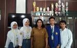 Disarpustaka Kapuas Bimbing dan Fasilitasi 3 Siswa SMKN 1 Kuala Kapuas PKL