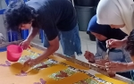 Warga Binaan Rutan Tamiang Layang Dibekali Keterampilan Membatik