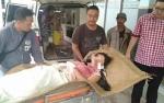 Istri Luka-luka Usai Dibacok Suami di Kapuas