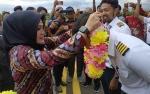 Wakil Bupati Seruyan Resmikan Penerbangan Perdana di Bandara Kuala Pembuang