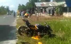 Dua Motor Tabrakan di Kotawaringin Barat, Seorang Pengendara Tewas