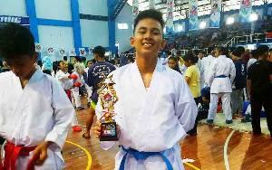 Karateka Asal Kalteng Raih Juara III Banjarbaru Cup Karate 2020