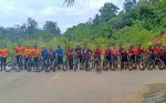 KNPI Murung Raya Pererat Kebersamaan Melalui Olahraga Bersepeda