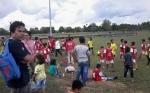 SSB Pepen Palangka Raya Latih Tanding dengan Borneo Football di Kasongan