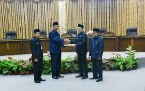 Pemkab Barito Utara Sampaikan 2 Raperda Pada Rapat Paripurna I Masa Sidang II Tahun 2020 DPRD
