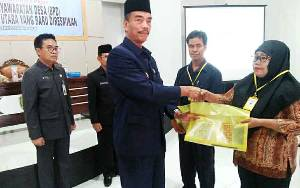 Wakil Bupati Barito Utara Ingatkan BPD Harus Mengerti Perencanaan dan Keuangan Desa