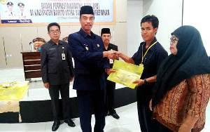 Wakil Bupati Barito Utara Buka Pelatihan Awal Masa Tugas Anggota BPD