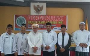 Ustadz Ahmad Rayyan Zuhdi Abrar Dilantik Jadi Ketua MUI Kecamatan Mentawa Baru Ketapang