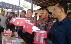 Polisi Sita 12 Paket Sabu dari 10 Tersangka