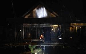 Kebakaran Hanguskan Rumah Warga di Desa Pulau Mambulau Kapuas