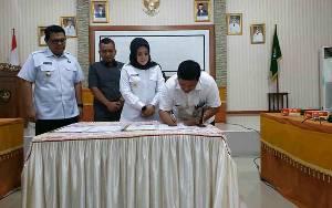BNNP Kalteng dan RSUD Kuala Pembuang MoU Layanan Rehabilitasi Bagi Pecandu Narkoba