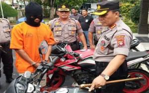 Polisi Tembak Pelaku Pencurian Motor