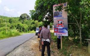 Polres Barito Utara Kampanyekan Keselamatan Berkendara