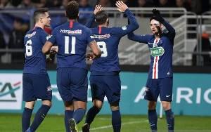 PSG ke Perempat Final, Lille Disingkirkan Klub Divisi Empat