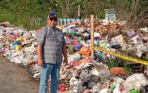 Sampah masih Berserakan di Tumbang Samba Katingan