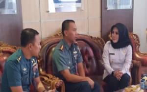 Kunjungi Pangkalan TNI AL Banjarmasin, Ini Harapan Wabup Seruyan
